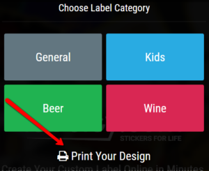 print your design